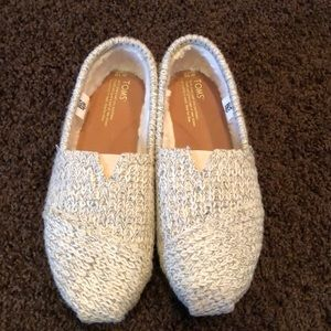 Sweater Toms Slip Ons